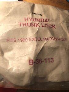 Trunk Lock New for Hyundai Excel -Mitsubishi Precis 1990and Up ASP - B-36-113