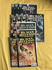 Lot of 13 Human Defense Corps (2003) #1 2 3 4 5 with dupes VF-NM Near Mint
