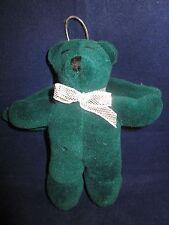 "North American Bear #7050 Harold Angel Bear 1988 Christmas Ornament Green 5"" NWT"