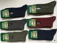 6 pairs MAN'S HIGH QUALITY CHUNKY THERMAL WOOL SOCKS HIKE BOOT SIZE 6-11  PKRGHT