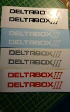 ***Yamaha Deltabox  bike or road fairing Decals Stickers PAIR***