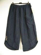 Pantalones de mujer grande color principal azul