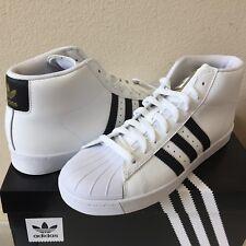 Adidas Pro Model Vulc Adv Skate Shoes White/Black