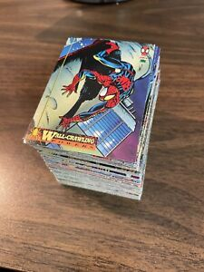 1994 Marvel Amazing Spider-Man Trading Cards COMPLETE BASE SET, #1-150 - Fleer