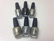 Lot of 6 OPI Starlight Collection nail polish full size .5 oz each bottle