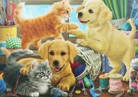 500 Pieces Jigsaw Puzzle Cute Cats & Dogs - Brand New & Sealed
