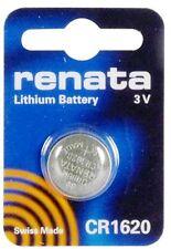 1 X Renata CR1620 Lithium Watch Key Gadget Battery 3v Blister Packed Swiss