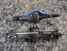 Scx10 Axle Front + Rear Axle 1:10  Vanquish C Hubs And Knuckles