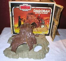 Vintage STAR WARS Empire Strikes Back DAGOBAH PLAYSET~Base Only~with Box