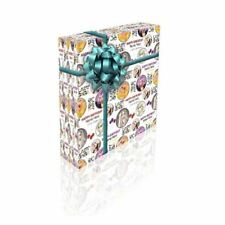 Lady Gaga Personalised Birthday Gift Wrap With 2 Tags - ADD A NAME!
