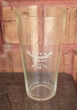 VINTAGE ULVA NEW SOUTH WALES REGULATION 10 MIDDY BEER GLASS