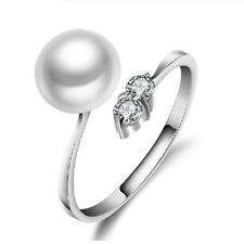 Sterling Silver Pearl Fine Rings