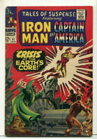 Tales Of Suspense-Iron Man/Captain America  #87 VG/FN Marvel Comics  SA