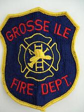 Grosse Ile Michigan Fire Department Patch