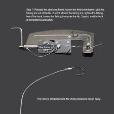Semi Automatic Fishing Hook Line Tier Fish Hook Tie Machine Tool Stainless Steel