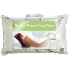 Bamboo Memory Foam Pillow White