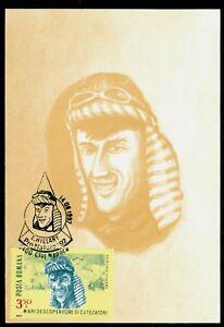 1992 HILLARY,Edmund HILLARY,Mount Everest,New Zealand/explorer,Romania,Maxi card