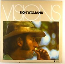 """12"""" LP - Don Williams  - Visions - L7917 - cleaned"""