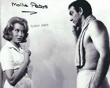 MOLLIE PETERS SIGNED 007 JAMES BOND  8x10 PHOTO 4 - UACC & AFTAL RD AUTOGRAPH