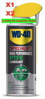 WD40 400ml Specialist High Performance PTFE Lasting Lubricant Smart Spray