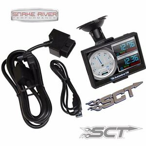 SCT LIVEWIRE TS+ PLUS CUSTOM TUNER PROGRAMMER FORD SUPER DUTY GAS DIESEL 5015P