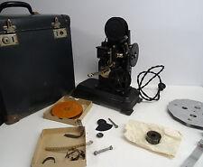 Antiker Filmprojektor Alef Handkurbel Projektor mit Koffer und Film - Deko ~30er