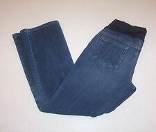 Women's Liz Lange Maternity Boot Cut Stretch Blue Denim Jeans 4