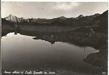 160725 BERGAMO BRANZI - LAGHI GEMELLI - ALBA Cartolina FOTOGRAFICA viaggiata