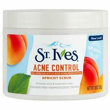 NEW St. Ives Acne Control Oil-Free Saliylic Acid Acne Apricot Scrub 10 oz