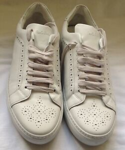 Paul Smith Men's Shoes Wooster White Trainers.
