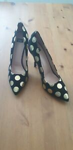 NEW Boutique Moschino leather heels size 41 au 10