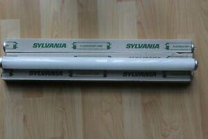 3 x Sylvania 0001551 F2-W/29-530/RS 20w 24 inch 2ft T12 Fluorescent Tube 3000k