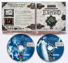 D&D Forgotten Realms Icewind Dale (PC, 2002) COMPLETE VIDEO GAME ORIGINAL