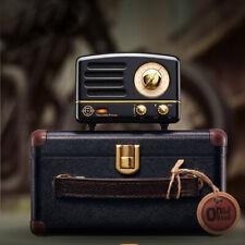 MAO KING Black Little Princess Vintage style Mini Bluetooth V4.0 Speaker Radio