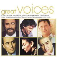Great Voices (19 tracks, 2002) Freddie Mercury & Montserrat Caballé, Andr.. [CD]