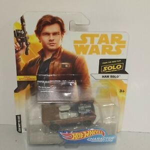 Han Solo - Star Wars Solo Character Cars - Hot Wheels (2018)