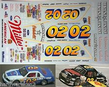 NASCAR DECAL # 02 MILLER AMERICAN / LONESTAR PETERBILT 1986 FORD MARK MARTIN