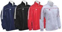 Adidas White Tracksuit Top Mens Sports Jacket Womens Training Suit Medium Large