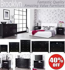 Brooklyn Solid Wood Bedroom Furniture Sets