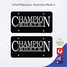 Wahoo Boat Decals w// Free Window Sticker Just Like Originals Brand New Pair