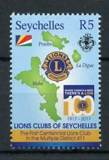 Seychelles 2017 MNH Lions Club International 100th Anniv 1v Set Stamps