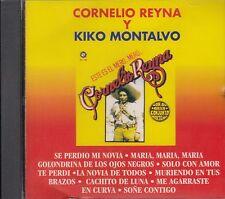 Cornelio Reyna y Kiko Montalvo Se Perdio Mi Novia CD New Nuevo  Sealed