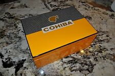 GORGEOUS PIANO FINISHED CLASSIC COHIBA 100 CIGAR HUMIDOR
