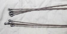 Shimano road bike brake cables 10 stainless slick 5 at 1730mm 5 at 1100mm NEW!