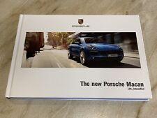 Porsche Macan 2014 Hardback Brochure