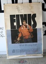 "Elvis Presley Original USA/MGM ""That's The Way It Is"" 40"" x 60 "" Hard Stock"