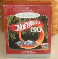 Hallmark Hot Wheels 30th Anniversary 1998 Keepsake Ornament