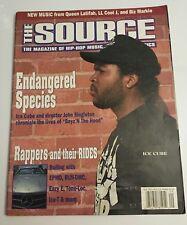 The Source Magazine September 1991 Ice Cube Rare Vintage
