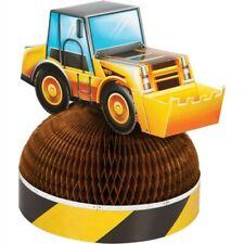 Big Dig Construction Honeycomb Centerpiece 11