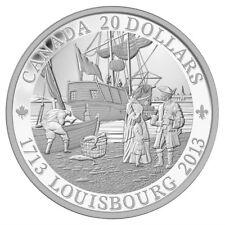 Louisbourg, 300th Anniversary - 2013 Canada $20 Fine Silver Coin